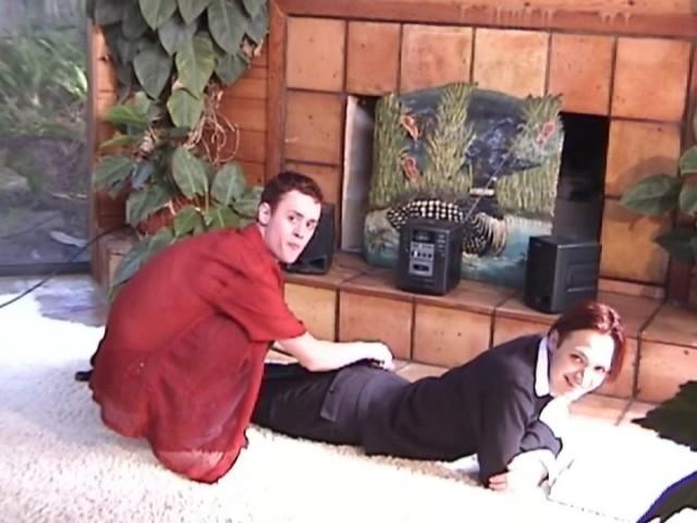 Couple gay en chaleur